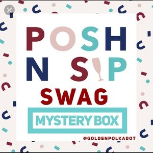 Posh N Sip Swag Mystery Box for 20 Guests